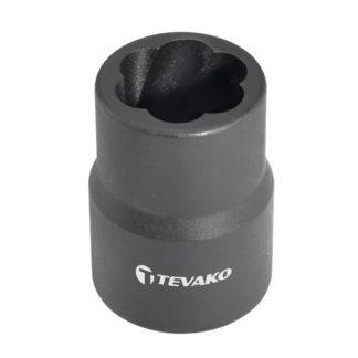 """1/2"""" поворотная торцевая головка 15 мм, TVK-07002-15"""