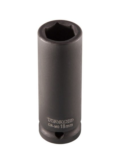 Головка торцевая ударная глубокая, 18 мм, 1/2″DR| TVK-08029
