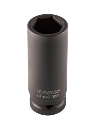 "1/2""DR. Головка ударная торцевая 22 мм, TVK-08033"