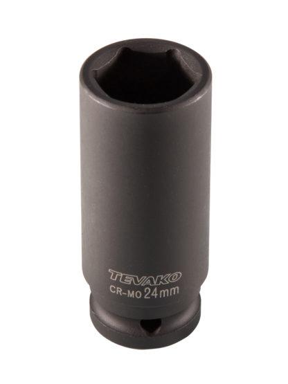 Головка торцевая ударная глубокая, 24 мм, 1/2″ DR.| TVK-08034