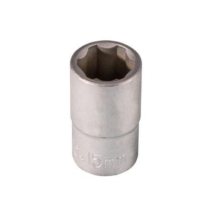 1/2″DR. Головка торцевая (Superlock) 15 мм | TVK-08039
