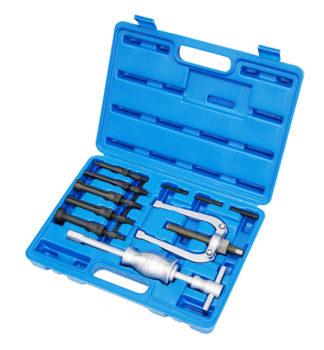 Съемник подшипников цанговый с обратным молотком (8-34 мм) (11 шт) | TVK-01004