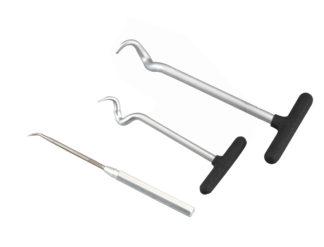 Набор для удаления прокладок и подхвата мягких трубок (3 шт), TVK-01011