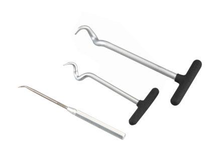 Набор для демонтажа уплотнителей, сальников и подхвата мягких трубок (3 шт) | TVK-01011