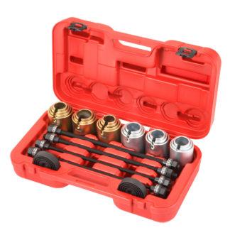 Набор для монтажа/демонтажа втулок (сайлентблоков) и подшипников (26 шт), TVK-02004