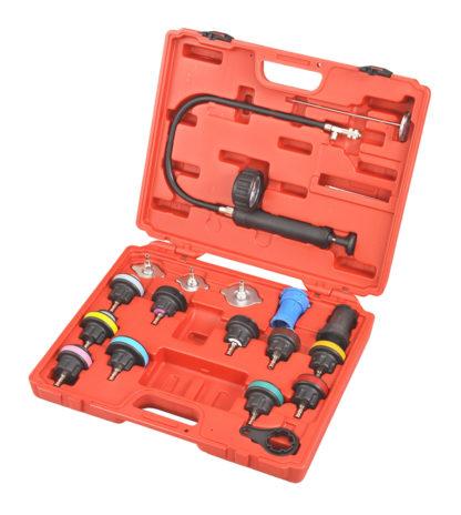Набор для тестирования герметичности системы охлаждения (18 шт) | TVK-04005