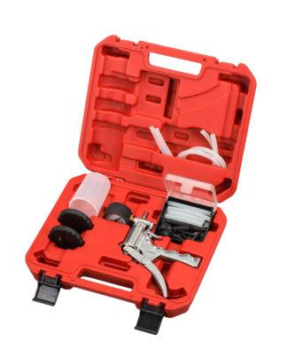 Тестер вакуумных систем (вакуумметр) и набор для слива тормозной жидкости | TVK-06011