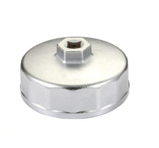 Съемник масляных фильтров Ø74,2 мм (Mazda, Audi, VW и др.) | TVK-06018