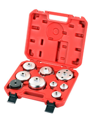 Набор съемников масляных фильтров «чашка» (9 шт) | TVK-06020