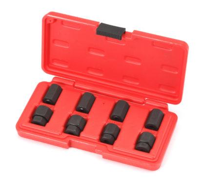 Набор шпильковертов для удаления и установки шпилек (8 шт) | TVK-07011