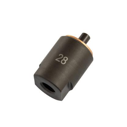 №28 адаптер инжектора дизельного компрессометра | TVK-01019-28