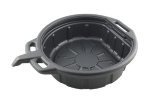 Ёмкость для слива масла 16 л пластиковая (ванна с носиком), TVK-06002