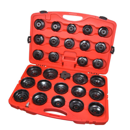 Набор съемников масляного фильтра 65-108 мм (30 шт) | TVK-06010