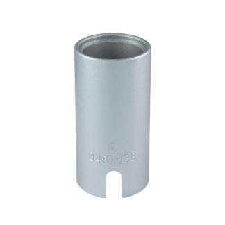 Гильза D48*d38*95L(Silver) для сайлентблоков | TVK-02004-38