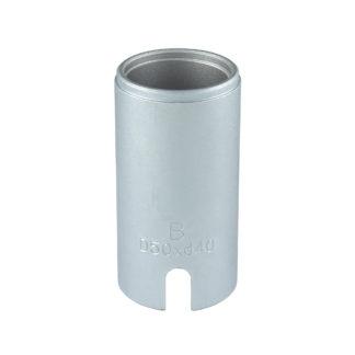 Гильза D50*d40*95L(Silver) для сайлентблоков | TVK-02004-40