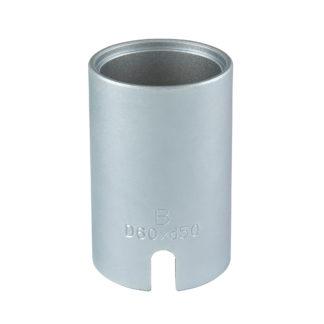 Гильза D60*d50*95L(Silver) для сайлентблоков | TVK-02004-50