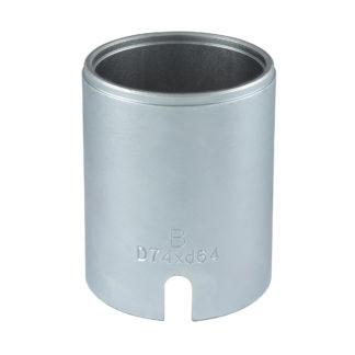 Гильза D74*d64*95L(Silver) для сайленблоков | TVK-02004-64