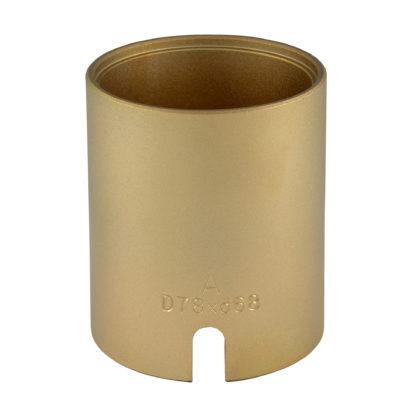 Гильза D78*d68*95L(Gold) для сайлентблоков | TVK-02004-68
