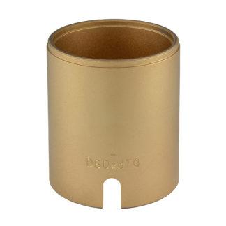 Гильза D80*d70*95L(Gold) для сайлентблоков | TVK-02004-70