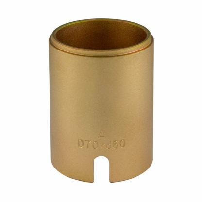 Гильза D70*d60*95L(Gold) для замены сайлентблоков | TVK-02004-60