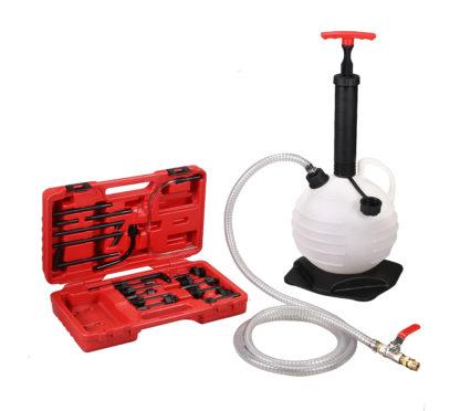 Ручной нагнетатель для автоматических коробок передач (20 переходников) | TVK-06038