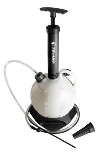 Приспособление для откачивания масла и технических жидкостей (маслооткачка) 6л | TVK-06039