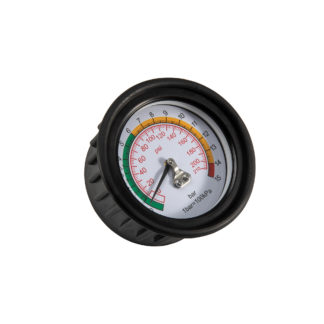 2,5» манометр для подкачки шин 15 Bar | TVK-09011-25M
