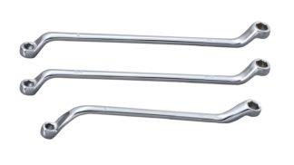 Ключ накидной 6 граней для тормозных штуцеров 3/8»-7/16» | TVK-03013-38716