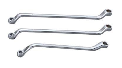 Ключ накидной 6 граней для тормозных штуцеров 3/8»-7/16»   TVK-03013-38716