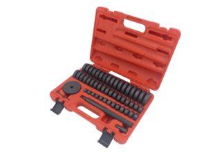 Набор оправок для выпрессовки подшипников, втулок, сальников 18-74мм (50 шт) | TVK-02022