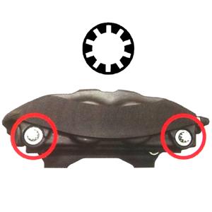 Набор специальных головок и бит для тормозных суппортов (9 шт) | TVK-03015