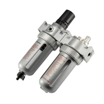 Модульная группа для подготовки воздуха с регулятором давления 3/8″ | TVK-09031