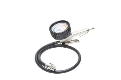 Шинный манометр с накачкой 3,5» (шланг 85 см)   TVK-09040
