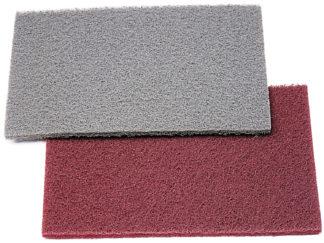 Абразивный материал на синтетической основе 150х230мм серый