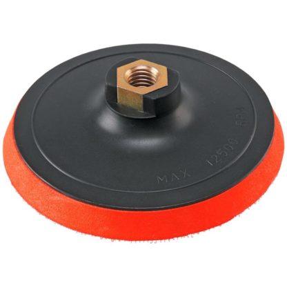 Пластиковый диск- подошва под липучку М14 диаметр 150мм со шпинделем ORIENTCRAFT