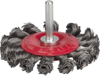 Кордщетка дисковая (радиальная) скрученная 75MM  ORIENTCRAFT