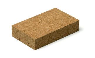 Шлифовальный блок из пробки 120х60х35мм ORIENTCRAFT