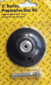 Резиновый диск-подошва с креплением для точечного ремонта 2″ (50 мм) ORIENTCRAFT