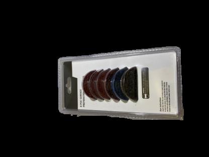 Набор для точечного ремонта: 1 диск-подошва  с креплением + 7 абразивных диска быстросъема 2″ (50 мм) ORIENTCRAFT