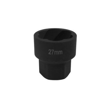 1/2″ спиральная торцевая головка (экстрактор), HEX — 27 мм | TVK-07004-27
