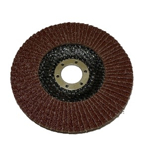 Круг лепестковый торцевой для ручной шлифовальной машинки 125*22 P 100