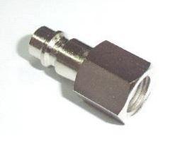 Штуцер быстросъемный металлический 1/4″G внутренняя резьба | TVK-09045