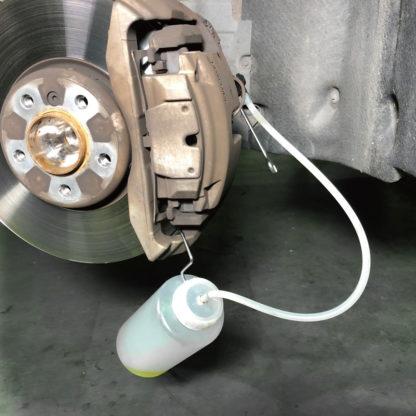 Емкость для слива тормозной жидкости (1 литр)| TVK-03023-B