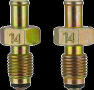 Переходник для тестера топливной системы M14х1.5 х 3⁄8 + кольцо уплотнительное (Land Rover, Lexus, Saab, Subaru, Suzuki, Toyota)| TVK-01002-14