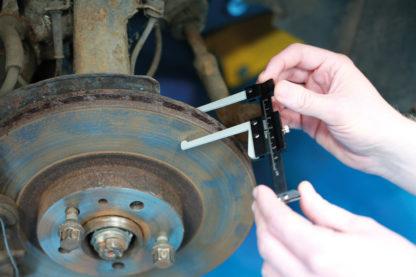 Штангенциркуль для измерения толщины тормозного диска и высоты протектора шины | TVK-03026