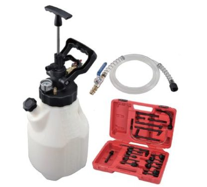 12,5 л Пневматический и ручной нагнетатель для автоматических коробок передач (21 адаптер) | TVK-06049